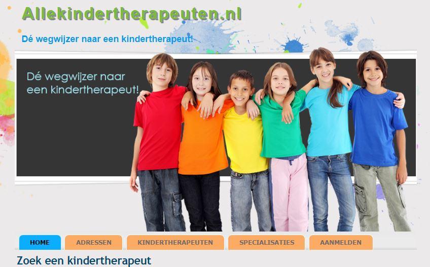 Zoek een kindertherapeut