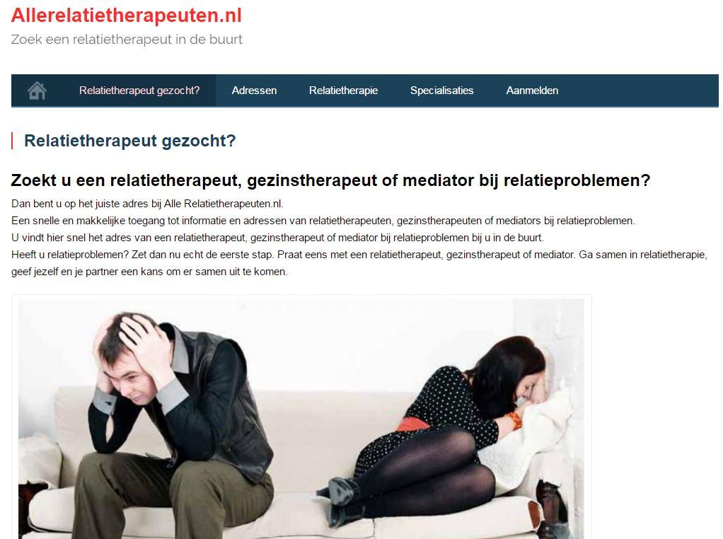 Relatietherapeut gezocht?