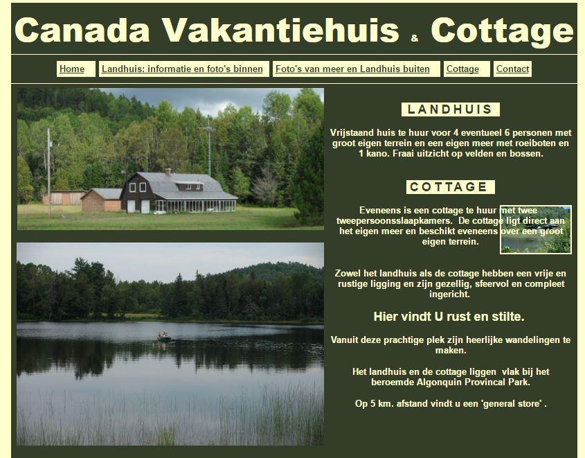 Landhuis Canada