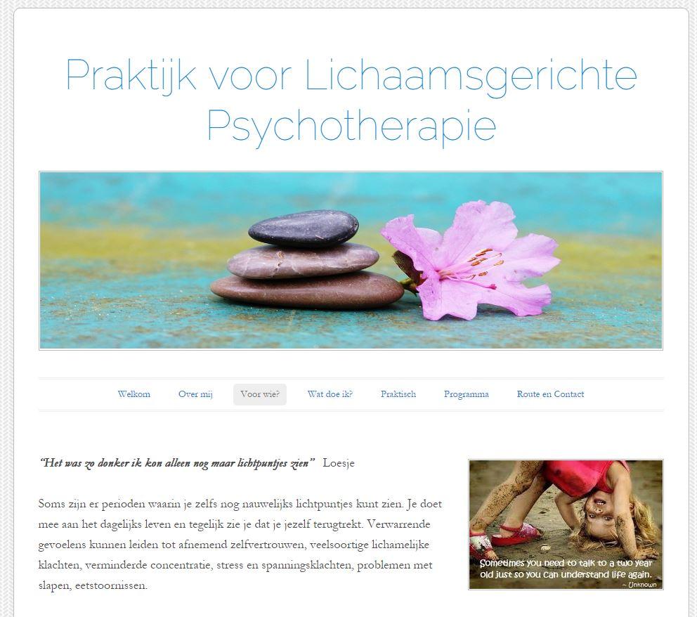 Lichaamsgerichte Therapie