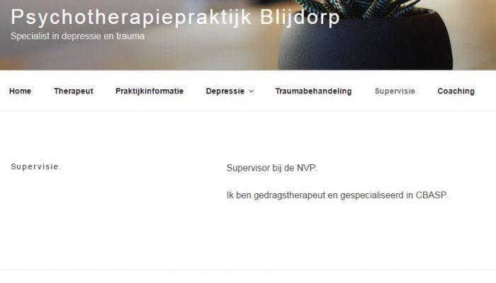 Psychotherapie Blijdorp