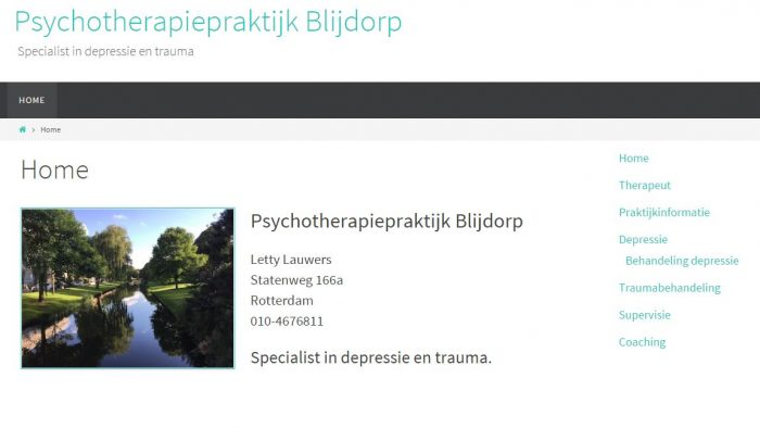 Demo 2 Psycholoog Blijdorp
