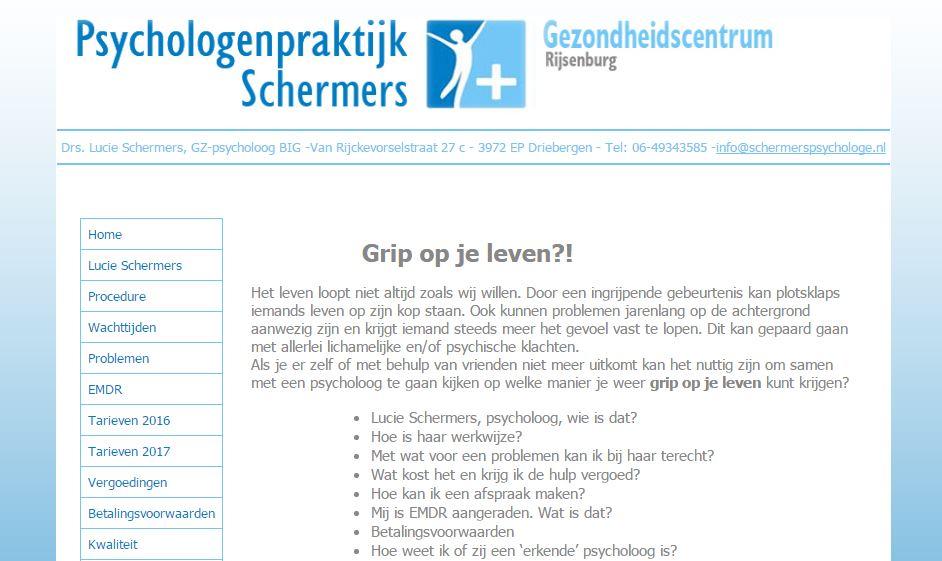 Schermers psycholoog