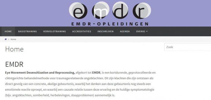 EMDR opleiding